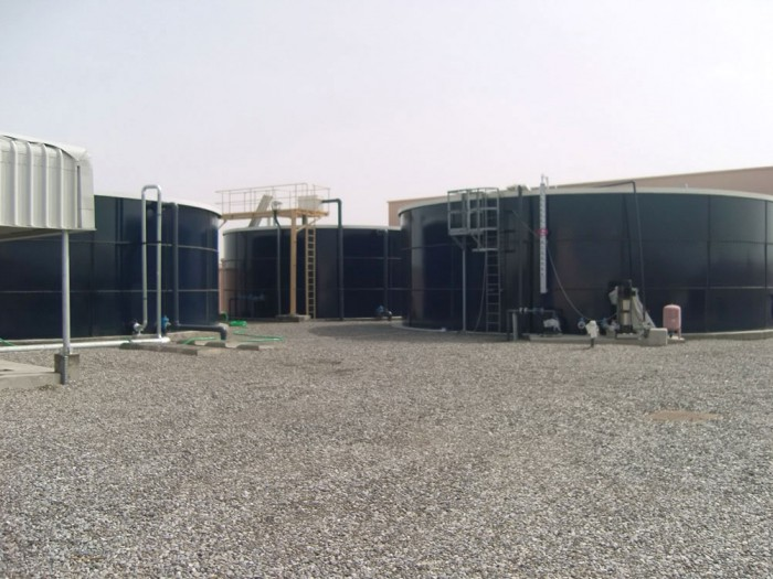 Sewage Treatment Plant at Bait Al Barakah
